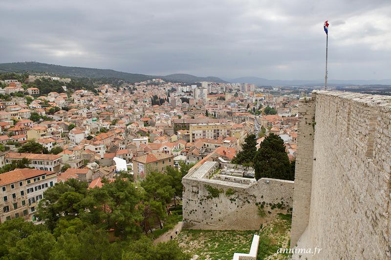Croatie: Sibenik forteresse