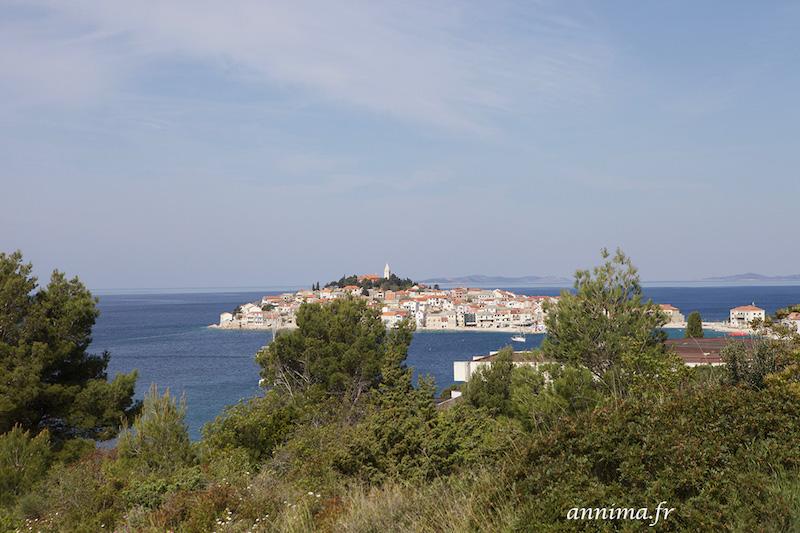 Primošten, joli village de la côte dalmate