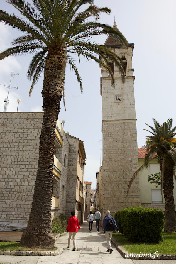Visiter Trogir, plus belle ville de Dalmatie