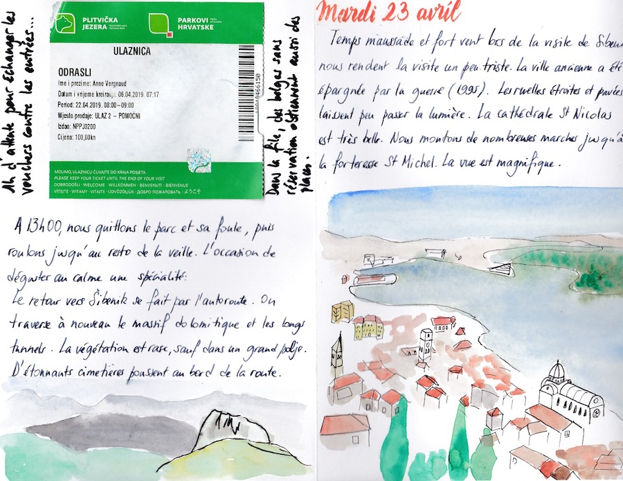 Carnet de voyage en Croatie