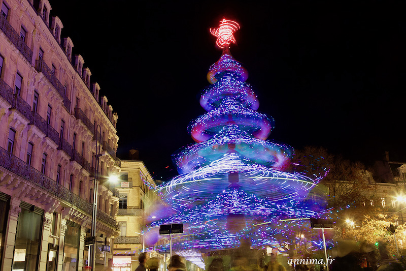 Illuminations de Noël 2019 à Toulouse