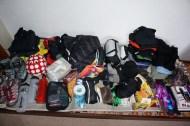 Nina's pile of stuff
