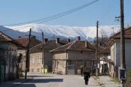 Looking towards the Serbian-Bulgarian border