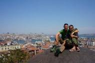 View over Istanbul from the rooftop