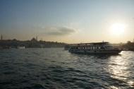 Looking over the Bosphorus towards Europe