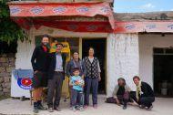Our wonderful generous hosts in Sevdili