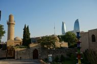 Architecture - old and new in Baku