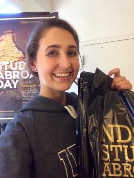Volunteering at the NDSU Study Abroad Fair