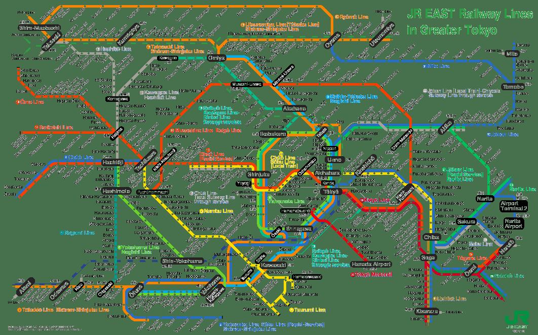 tokyo mrt map