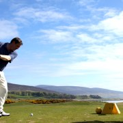 Great Golfing Location near Carnoustie and even St Andrews!