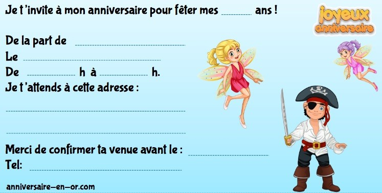 invitations gratuites d anniversaire
