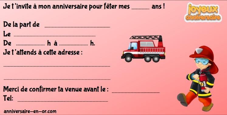 invitations anniversaire enquetes