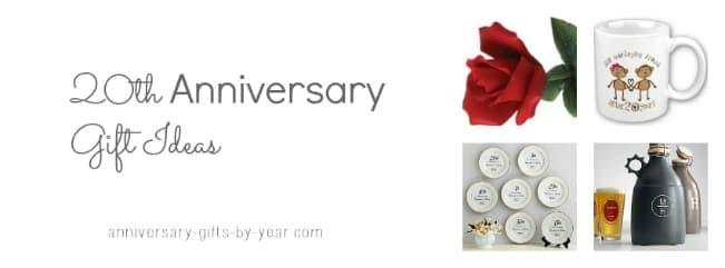 Best 20th Anniversary Gift Ideas