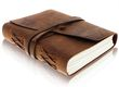 leather bound notepad