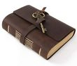 Big Leather with Key Journal