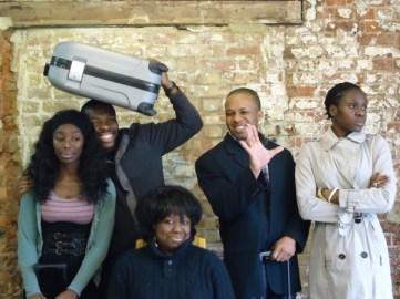 (from left to right) Rhoda Ofori-Attah, Nick Oshikanlu, Ellen Thomas, Lace Akpojaro, Anniwaa Buachie