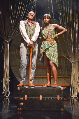 Everal Walsh and Anniwaa Buachie as the Narrator and Chipo