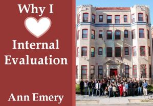 Why I Love Internal Evaluation