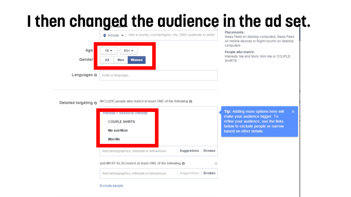 How I got 500 Page Likes for a Facebook Page through better ad images and ad sets