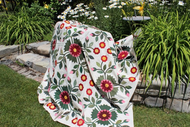 Quilts  Whig Rose (3)