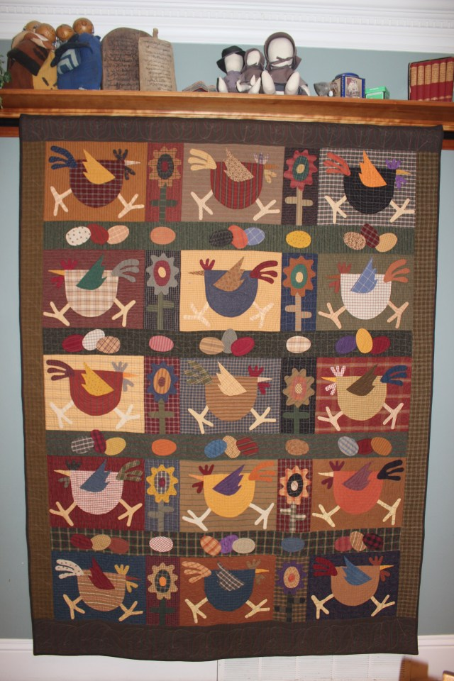 Quilt Chicken Run (1)