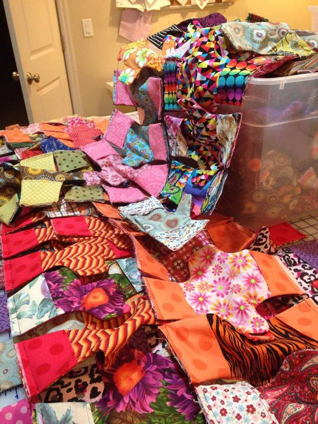 2014-10-11 Christine Chappell Sew-a-thon 1