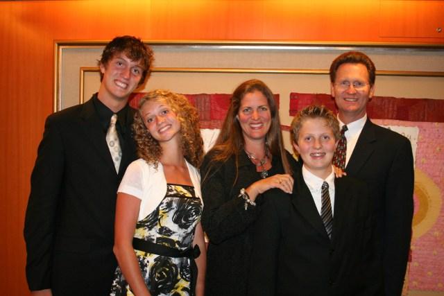 Lewis Family Photo  Aug 2008