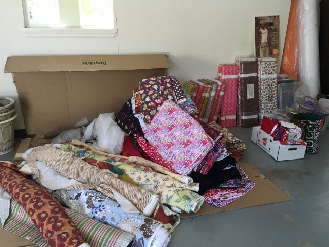2015-8-3 Fabric Sale in Yakima 1