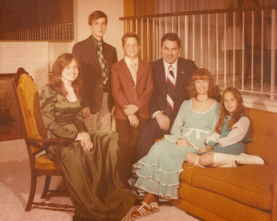 Martell Family 1970s