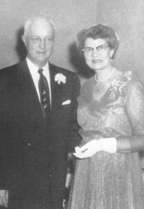 Smuin, Frank & Ruby at Grace's wedding 1954