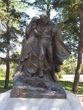 WQ Avard Fairbanks monument.