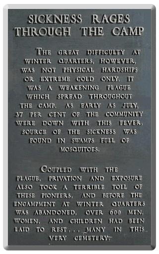 WQ Sickness plaque