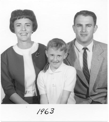 Laemmlen, Will, Gwen, & Donna Passport 1963