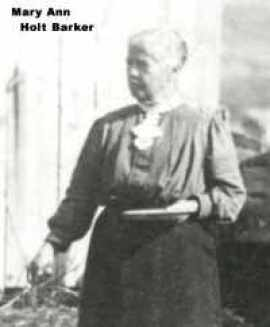 Holt, Mary Ann Pain b. 1840 candid