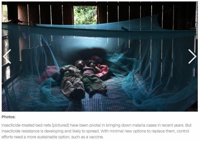Malaria mosquito nets