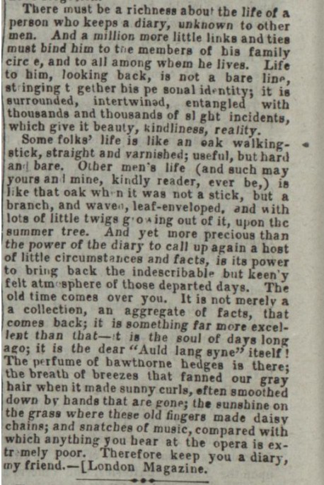 Journal Keeping a Diary 1862,2