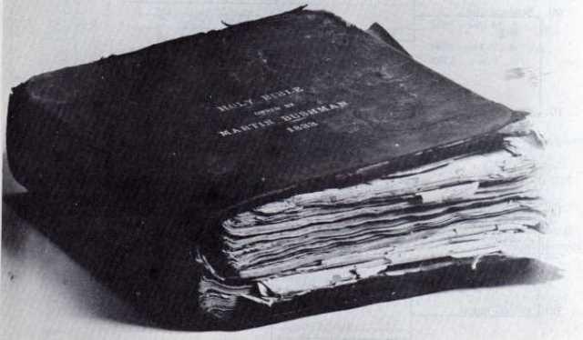 Bushman, Martin Bible 1833