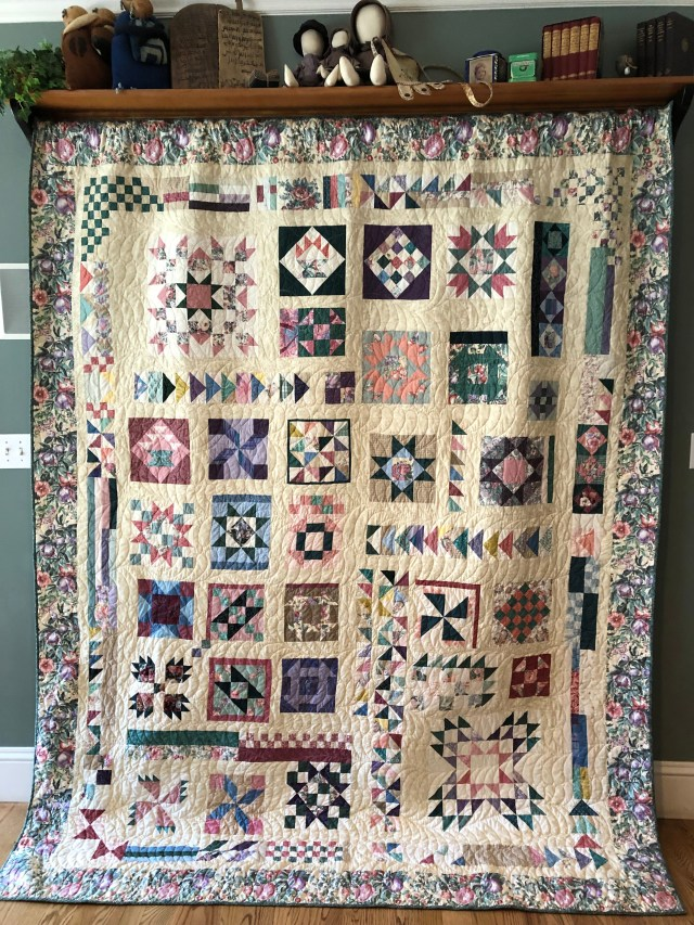2018 Cottage Sampler by Ann Lewis (1)