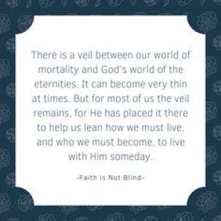 Faith is not Blind
