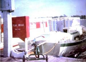 Boat in dock w trike