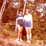 Judy & I, Black Mt. NC, '78