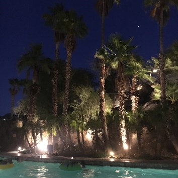 Poolside evening 2