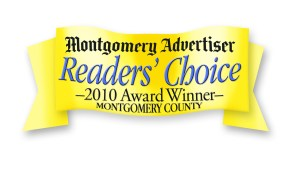 Montgomery advertiser readers' choice 2010 award winner