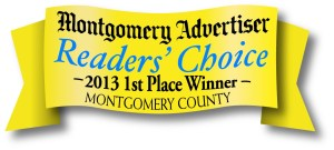 Montgomery advertiser reader's choice 2013 award winner
