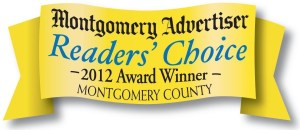Montgomery advertiser reader's choice 2012 award winner