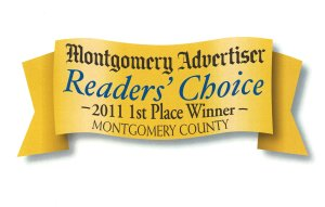 Montgomery advertiser reader's choice 2011 award winner