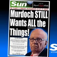 Murdoch STILL Wants ALL the Things! [The Occupied Sun]