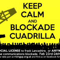 KEEP CALM and BLOCKADE CUADRILLA