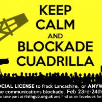 KEEP CALM and BLOCKADE CUADRILLA