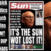 IT'S THE SUN WOT LOST IT [The Occupied Sun]